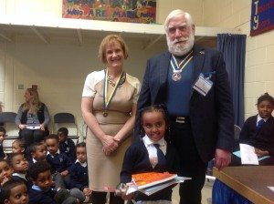Keystage One Winner, Naomi Paulos Age 5; Reception Class; Whose Home Language is Tigrinya