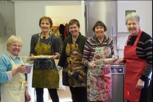 Gill & Connies Catering Team: Kath, Connie, Marion, Barbara & Pam, for whom the Club are sincerely grateful